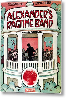 Berlin: Ragtime Band, 1911 Metal Print by Granger