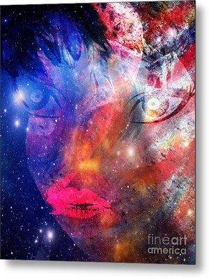 Between Me - Passion And Time Metal Print