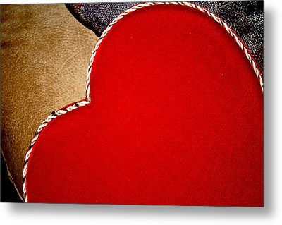 Big Heart Metal Print