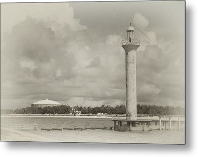 Biloxi Lighthouse Metal Print by James Corley