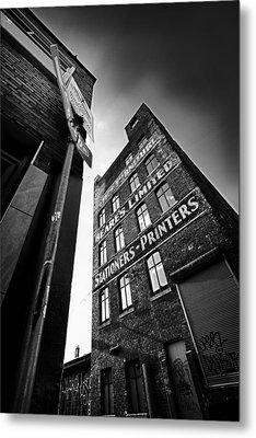 .block Print... Metal Print by Russell Styles