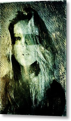 Blondie Metal Print by Andrea Barbieri
