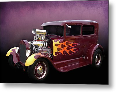 Metal Print featuring the photograph Blown 28 Tudor by Bill Dutting