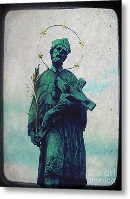 Bohemian Saint Metal Print