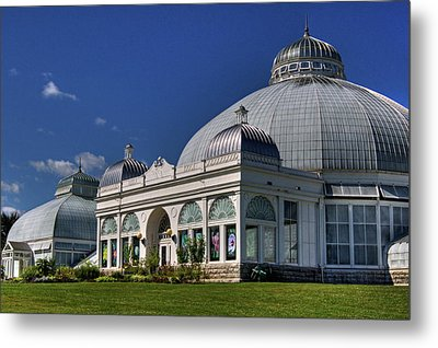 Metal Print featuring the photograph Botanical Gardens Hot House by Don Nieman