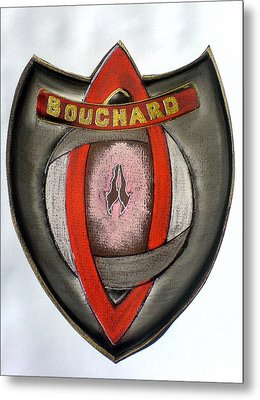 Bouchard Family Crest Metal Print by Ahonu
