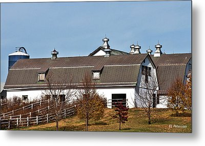 Boys Town Farm Metal Print by Edward Peterson