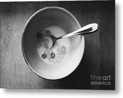 Breakfast Metal Print by Linda Woods