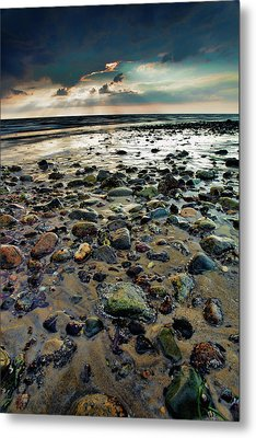 Breaking Through Metal Print by Rick Berk