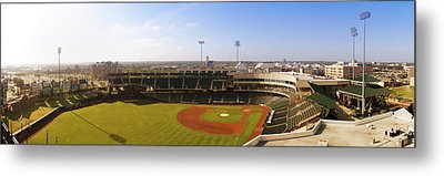 Bricktown Ballpark Metal Print by Ricky Barnard