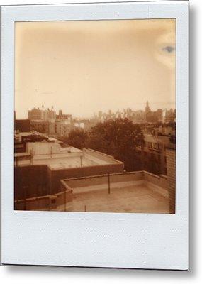 Brooklyn With Ip Px100 Film Metal Print