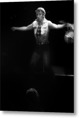 Bruce Springsteen 1984 Metal Print by Bill Cannon