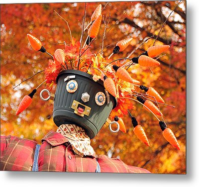 Metal Print featuring the photograph Bucket Head by Mike Martin