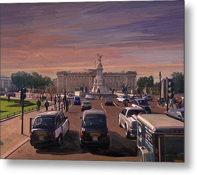 Buckingham Palace Metal Print by Nop Briex