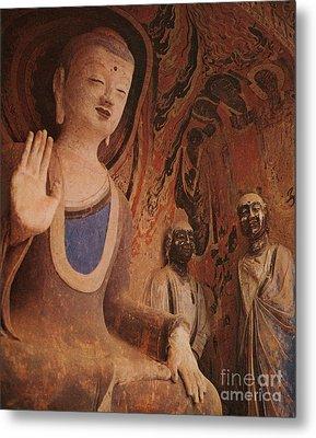 Buddha, China Metal Print by Photo Researchers