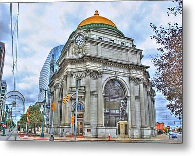 Metal Print featuring the photograph Buffalo Savings Bank  Goldome  M And T Bank Branch by Michael Frank Jr