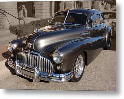 Metal Print featuring the photograph Buick Fastback by Bill Dutting