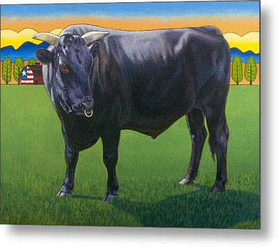 Bull Market Metal Print by Stacey Neumiller