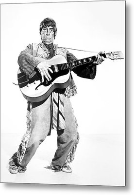 Buster Keaton, 1964 Metal Print by Granger