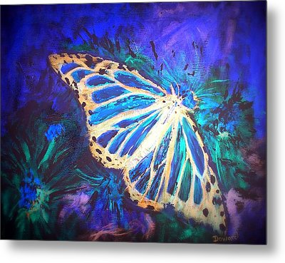 Butterfly Beauty 2 Metal Print by Raymond Doward