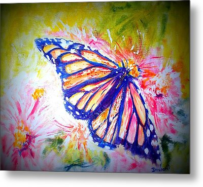 Butterfly Beauty 3 Metal Print by Raymond Doward