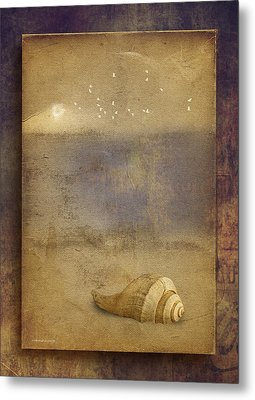 By The Sea Metal Print by Ron Jones