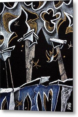 Ca' D'oro - Graphic Arts Illustration Venice Italy Metal Print by Arte Venezia