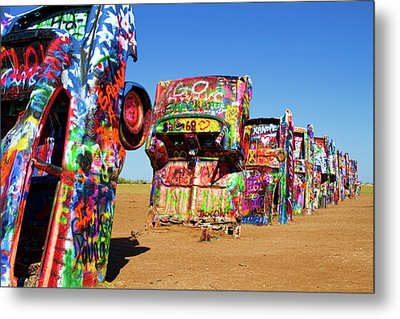 Cadillac Ranch 2  Metal Print by Lana Trussell