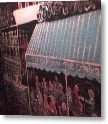 Cafe Du Monte Metal Print by Richard  Hubal
