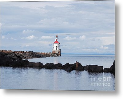 Calm Light Metal Print by Whispering Feather Gallery