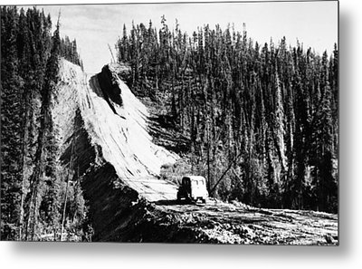 Canada: Alaska Highway Metal Print by Granger