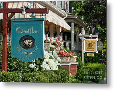 Cape May Bed And Breakfast Metal Print by John Greim