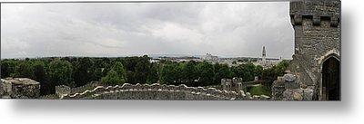 Cardiff Castle Panorama Metal Print by Ian Kowalski