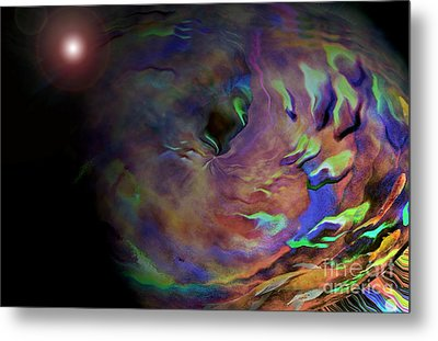 Carpeltunnell Metal Print by Robert Meanor