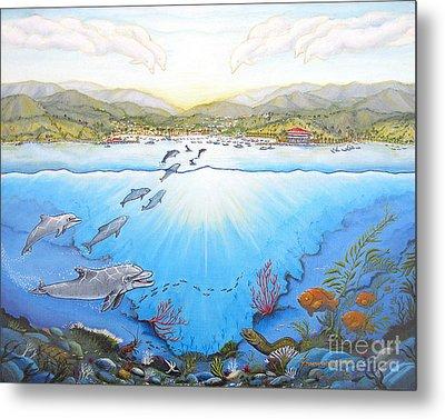 Catalina Island California Metal Print by Jerome Stumphauzer
