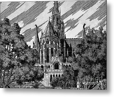 Cathedral Metal Print by Odon Czintos