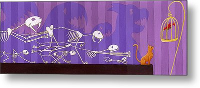 Cats Metal Print by Christy Beckwith