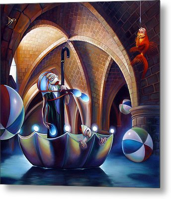Caverna Magica Metal Print by Patrick Anthony Pierson