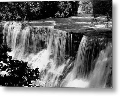 Metal Print featuring the photograph Chagrin Falls by Michelle Joseph-Long