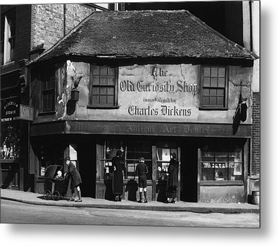 Charles Dickens. The Old Curiosity Metal Print by Everett
