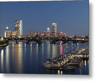Charles River Yacht Club Metal Print by Juergen Roth