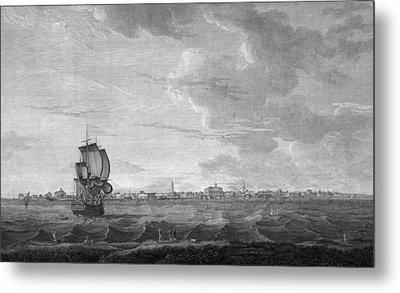 Charleston. A View Of Charles-town Metal Print by Everett