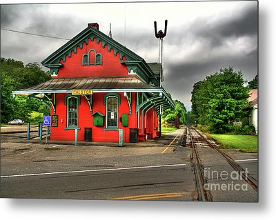 Chester Station Metal Print by Adrian LaRoque