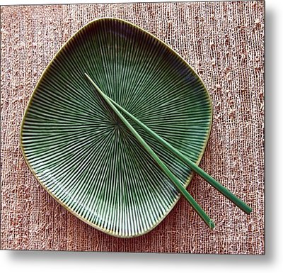 Metal Print featuring the photograph Chopsticks by Denise Pohl