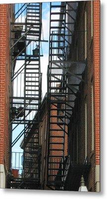 City Escapes Metal Print by Bruce Carpenter