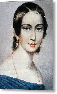 Clara Schumann (1819-1896) Metal Print by Granger