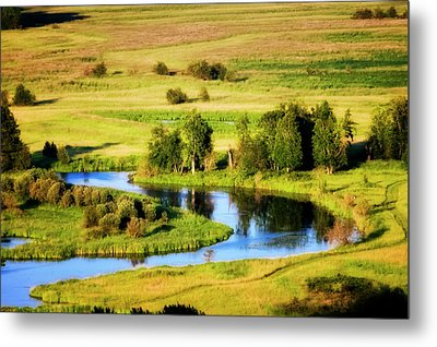 Metal Print featuring the photograph Clark Fork Delta  by Albert Seger