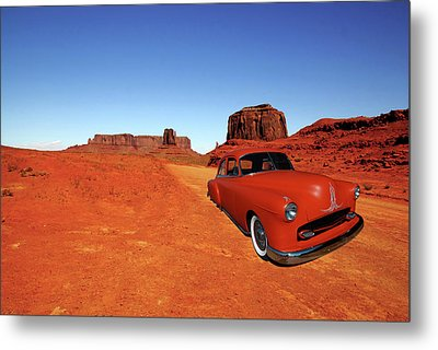 Metal Print featuring the photograph Clashing With Nature by Bill Dutting