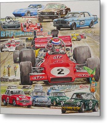 classic Racing 07 Metal Print by John  Archbold