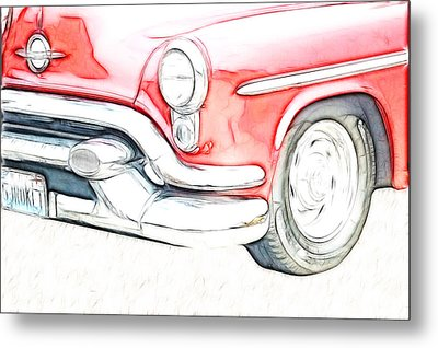 Classic Metal Print by Tilly Williams